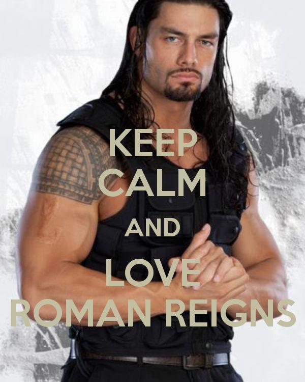 Roman Reigns...the Rock's cousin.