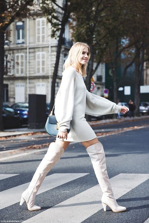 1000  images about over the knee boots on Pinterest | High boots ...