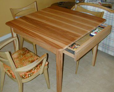Wooden Card Table | Whether This Is Called A Card Table A Game Table Or A