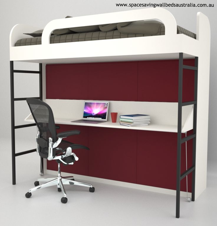 The Modern Bunk Wall Bed