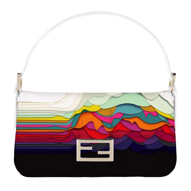 This is Multicolor, the virtual Baguette of the month of August personally selected by Silvia Venturini Fendi created with myBaguette tablet app