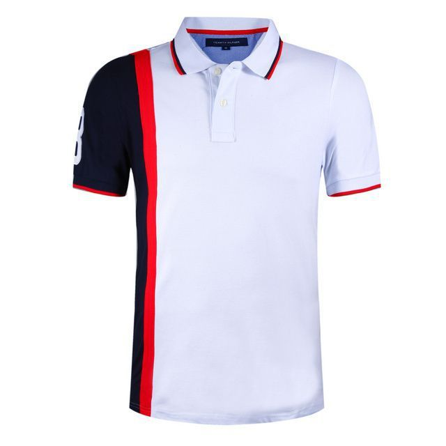 Find More Polo Information about 2015 Brand II Stitching Color Polo Shirt  Mens Cotton Polo Shirts Sports Golf  Jerseys ,High Quality Polo from Brilliant-Sweet on Aliexpress.com