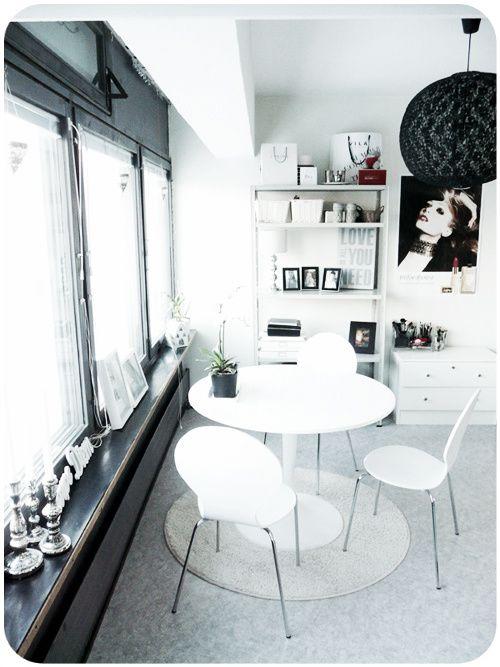 home decor, white, interior decor, minimalistic, table, chairs