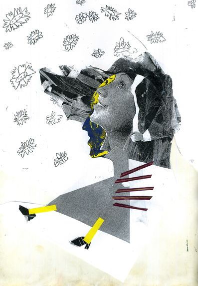 Self-Portraits by Jessica Costa, via Behance