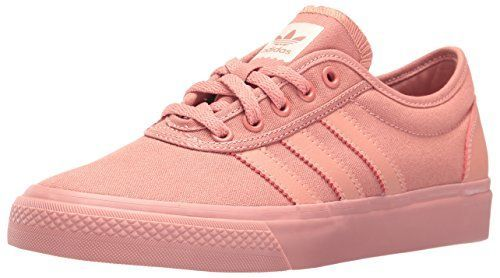 official photos bf9ff b41ef Adidas Originals Womens Adiease W Skateboarding Shoe, Raw Pink Raw Pink  Raw Pink Fabric,
