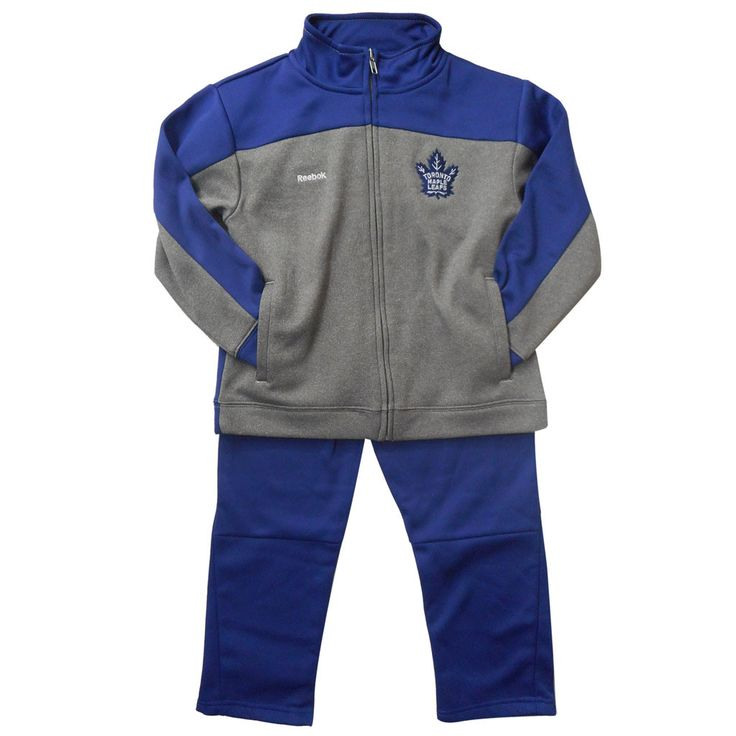 Toronto Maple Leafs Reebok Kids Trainer Pant Set - shop.realsports