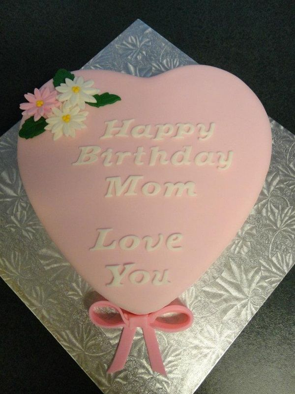 Heart Shaped Chocolate Cake Design : Heart Shaped Birthday Cake Edible Bliss Cakes Pinterest