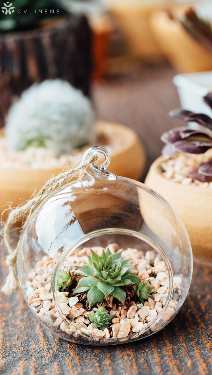 Hanging Glass Vase Globe Tealight Candle Holder 10cm Glass Vase Wedding Centerpieces Hanging Glass Vase Terrarium Decor