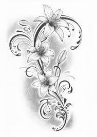 tatoveringer med sommerfugle og blomster - Google-søgning