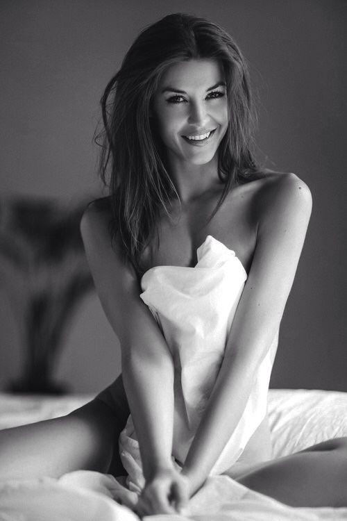 Beautiful smile. #BlackAndWhite #Models #ProvenAsTheBest