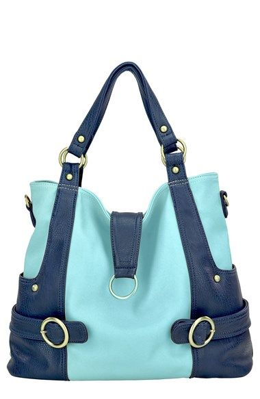 Timi & Leslie 'Hannah' Faux Leather Diaper Bag available at #Nordstrom
