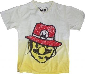 Camiseta Masculina Estonada Mario Jackson