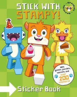Stampy Cat: Stick with Stampy! (Sticker Activity Book) by Joseph Garrett