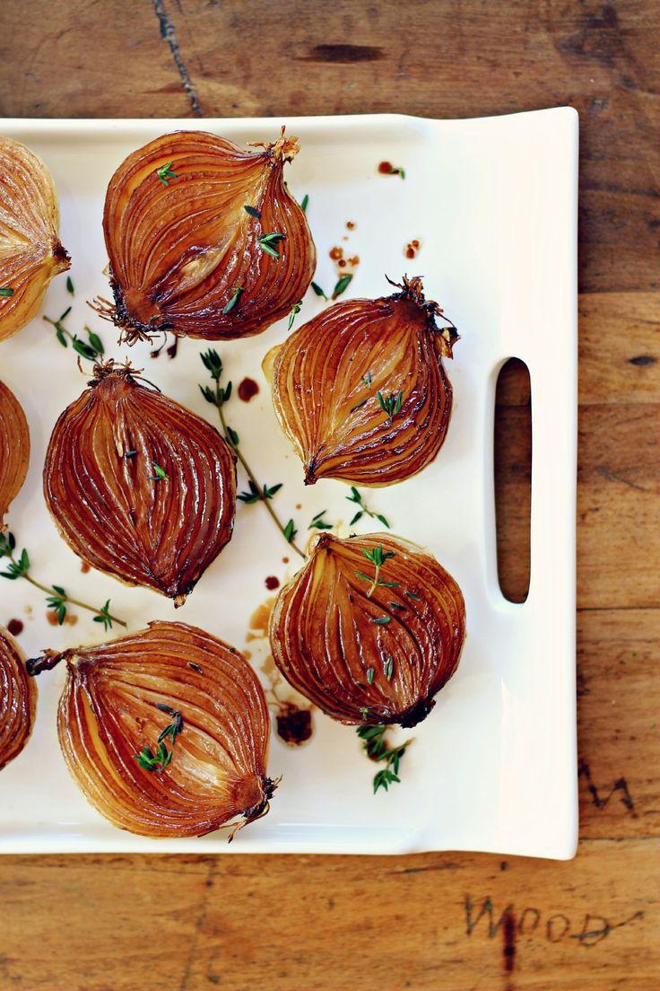 Balsamic Caramelized Onions {vegan, grain free and gluten free}