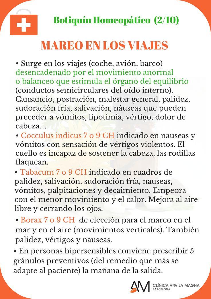Recomendaciones del Dr. Víctor Oliveras para combatir los incómodos mareos en los viajes: