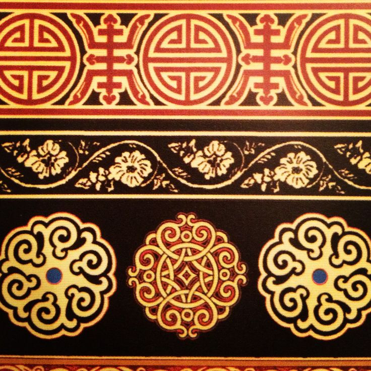 Mongolian ornamentation
