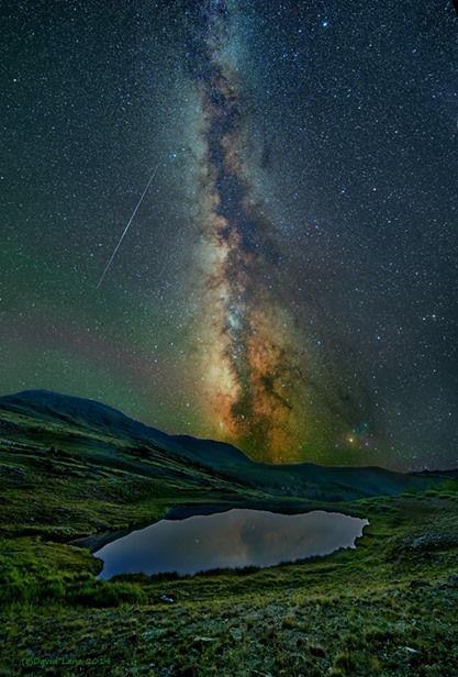 アメリカ国立公園での 天の川・ミルキーウェイ☆