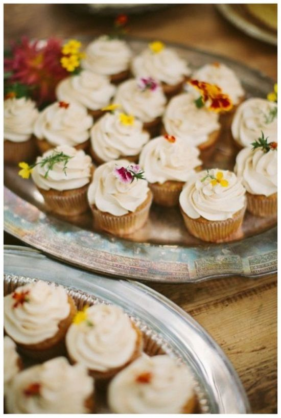 wildflower cupcakes |  #cupcakes #wildflower