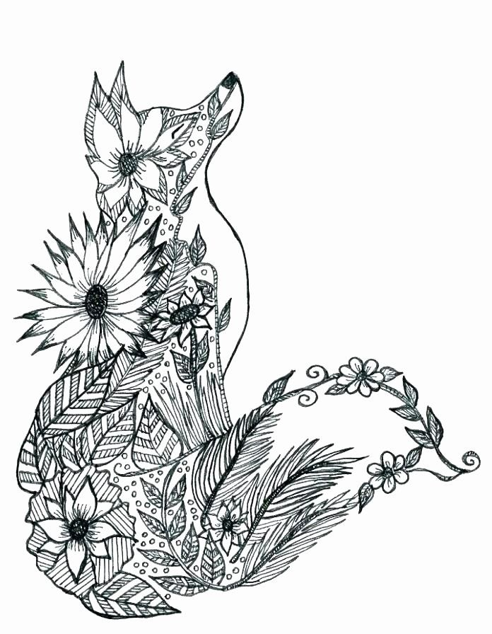 Animal Coloring Sheets Hard Awesome Hard Animal Coloring Pages Dream Advanced Save Color As In 2020 Animal Coloring Pages Fox Coloring Page Mandala Coloring Pages
