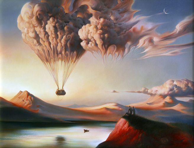 Metamorphosis distortion reality