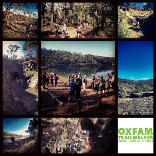1st Oxfam Trailwalker Long distance training walk 2014 #oxfamtrailwalker #nordicwalkingwa #OTWperth