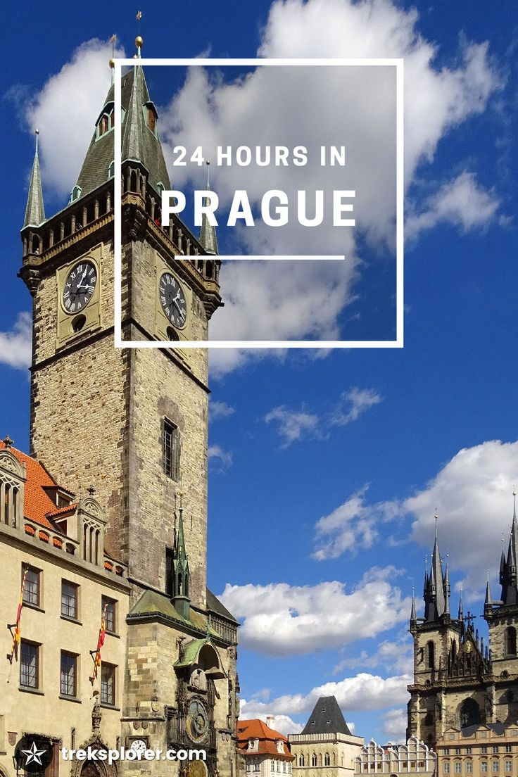 Quick layover in Prague, Czech Republic? Maximize your first 24 hours in Prague with this 1-day Prague itinerary for independent travellers.