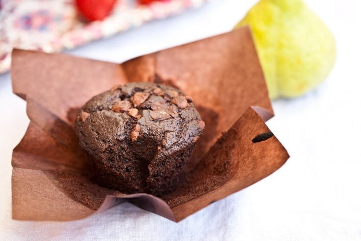 Celozrnné čokoládové muffiny, Kitchenette