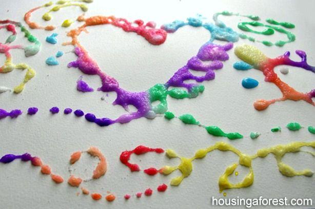 Домашняя мастерская: как самому сделать лунный песок, пальчиковые краски, тесто для лепки