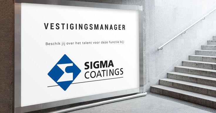 Ben jij de Vestigingsmanager die verantwoordelijk gaat zijn voor de dagelijkse gang van zaken bij Sigma Coatings in Bergen op Zoom?