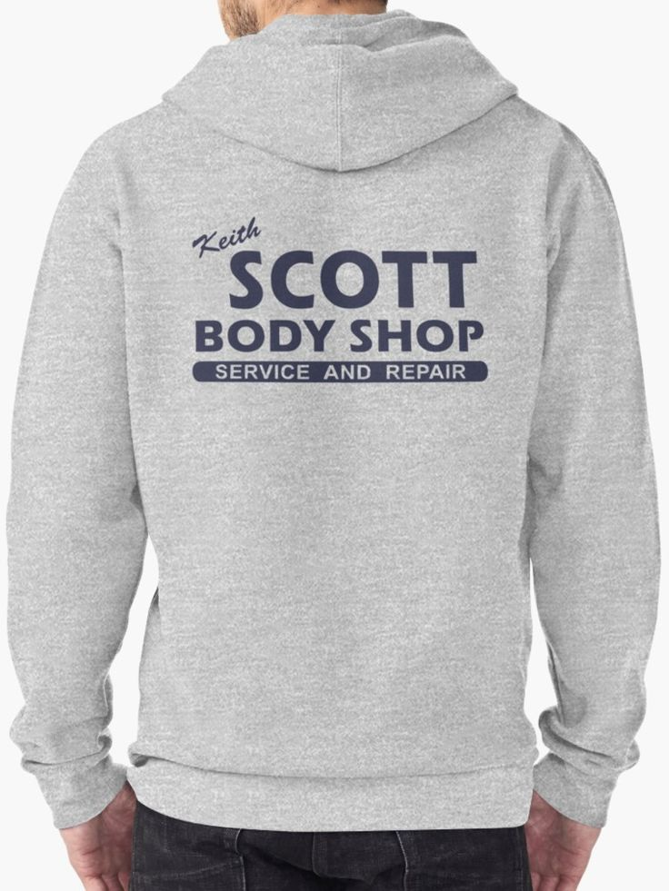 Keith Scott Body Shop Hoodie – One Tree Hill, Lucas Scott by fandemonium