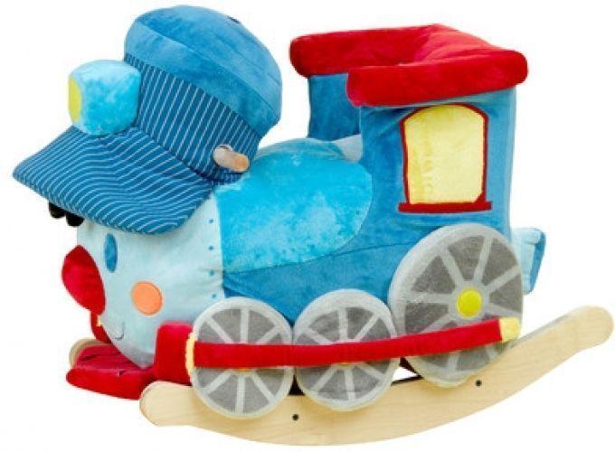 The Train Rocker Chair Kids Seat Play Fun Swinger Squeakers Singing Learning #Rockabye