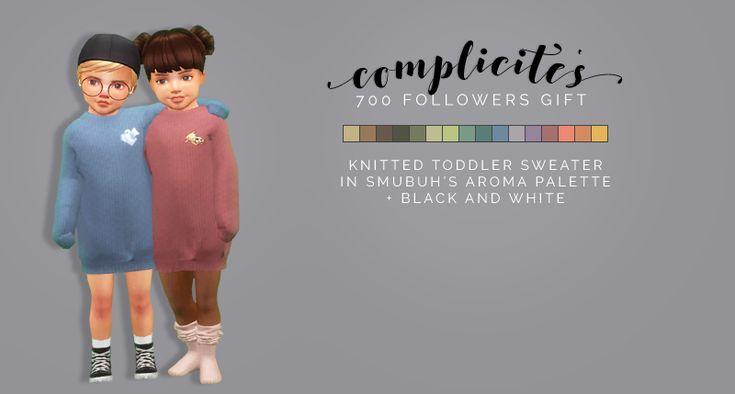 Complicité (followers Gift) Toddler Sweater