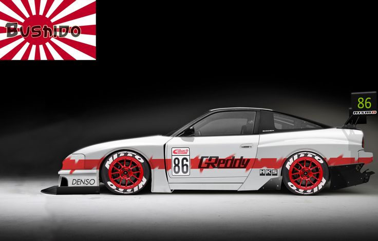 Nissan 240SX Time Attack By Bushido 2015