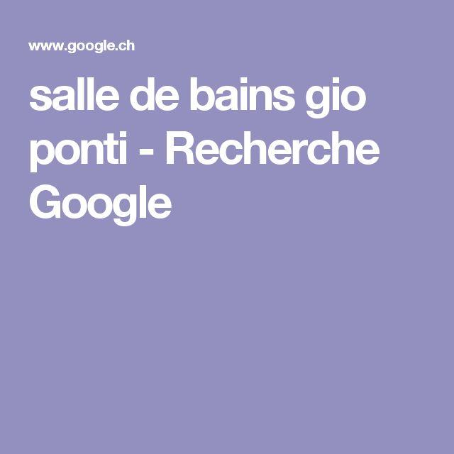salle de bains gio ponti - Recherche Google