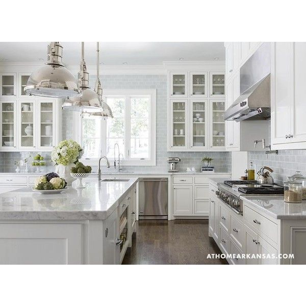 Kitchen Design Gray And White: 25+ Best Ideas About Blue White Kitchens On Pinterest