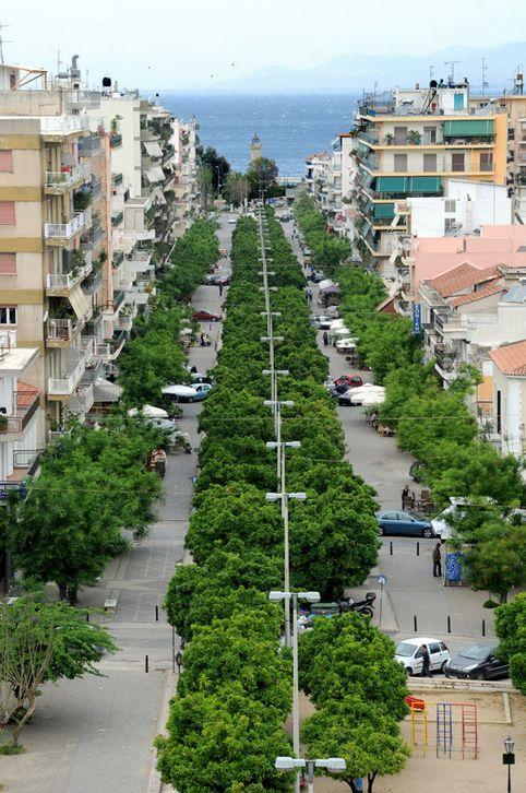 Patras, Greece Πεζόδρομος Τριών Ναυάρχων!