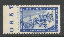 GB/UK 1937 GVI Coronation poster stamp/label (The Coronation Coach)