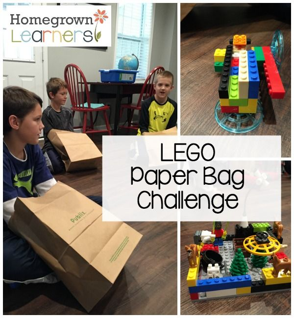 The LEGO Paper Bag Challenge                                                                                                                                                                                 More