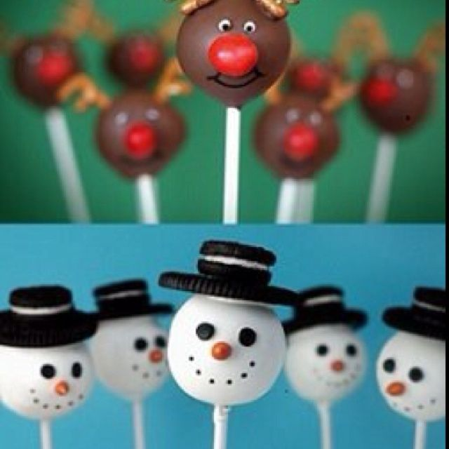 Cake Pop Christmas Decorating Ideas : 17 Best images about Recipes:Cake Pops & Cupcakes on ...