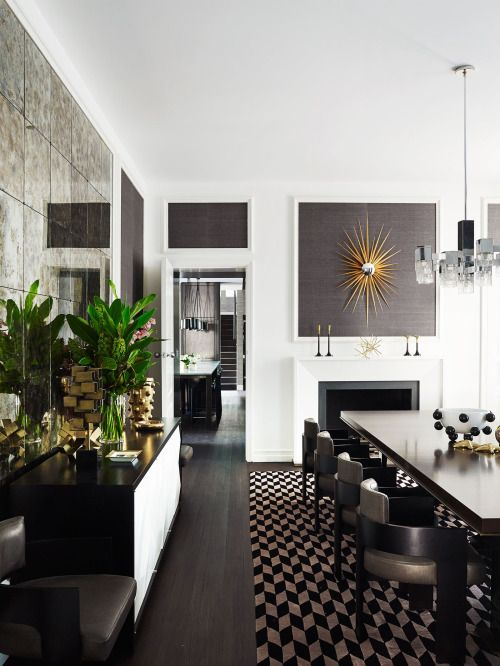 My Signature Style Is Dark Colour Such As Charcoal And Grey On Says Greg Fortunately The Owners Also Love Interiors