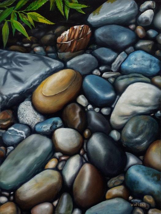 A Secret Place Painting - Canadian Artist Dave Watland