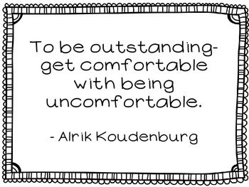 Quote of the Week (B&W) $5.00 - 36 full page quotes to use in your classroom. Teach your students about friendship, courage, being unique, and not giving up. Lead discussions about the quotes or have your students reflect on the meaning and write. So many ways to use these quotes!