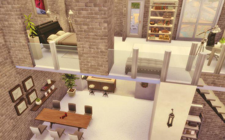 Loft The Sims 4