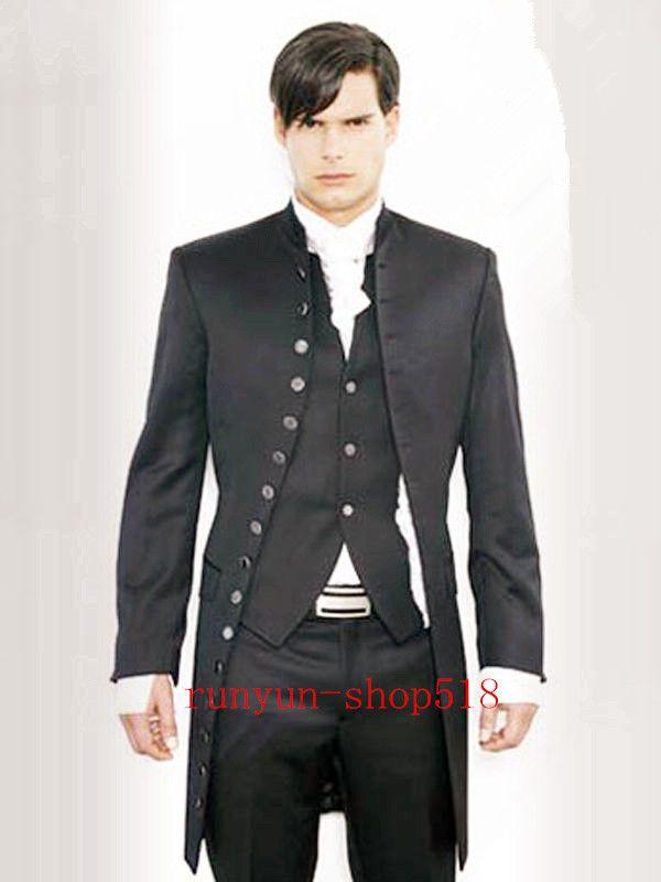 Wedding Dress Men's Formalwear Wedding Morning Suits Groom's Tuxedo Custom NEW in Clothing, Shoes, Accessories, Wedding, Groom, Ushers | eBay