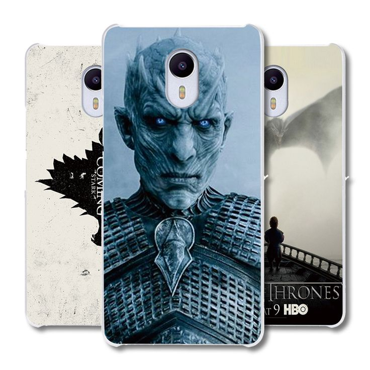 MEIZU M3 M5S M5 M3S M2 Note Pro 5 6 U10 U20 MX4 MX5 MX6 Phone case cover Game of Thrones pattern transparent shell - Direwolf Shop Direwolf Shop