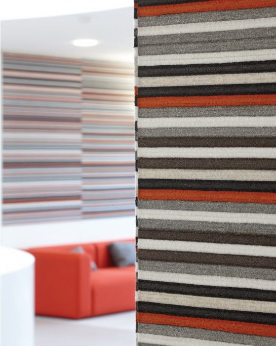 BUZZIBRICKBACK by @BuzziSpace.  Pin all kinds of things to this sound-insulating and self-adhesive screen. #sound #acoustic #furniture