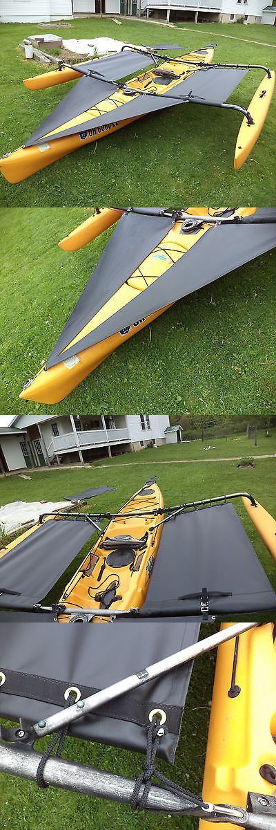 Other Fishing Equipment 27414: Hobie Adventure Tandem Kayak Trampoline And Splash Shield Black 2014 And Down -> BUY IT NOW ONLY: $199 on eBay!
