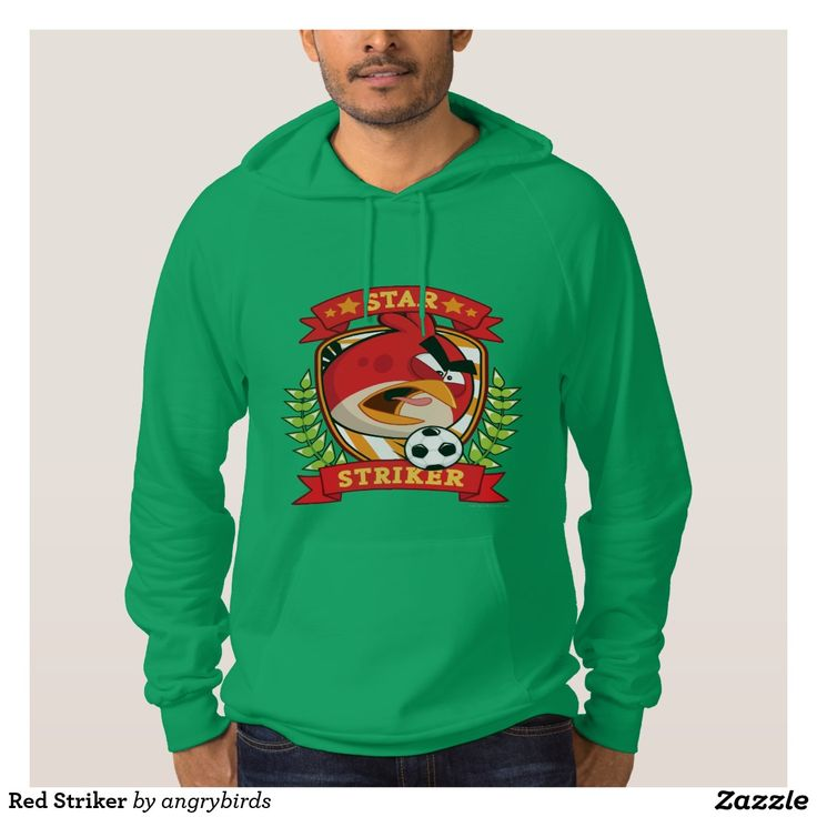 Red Striker Hooded Sweatshirt. Regalos Padres, fathers gifts, #DiaDelPadre #FathersDay