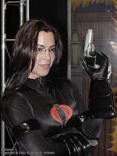 gina gatto as the baroness