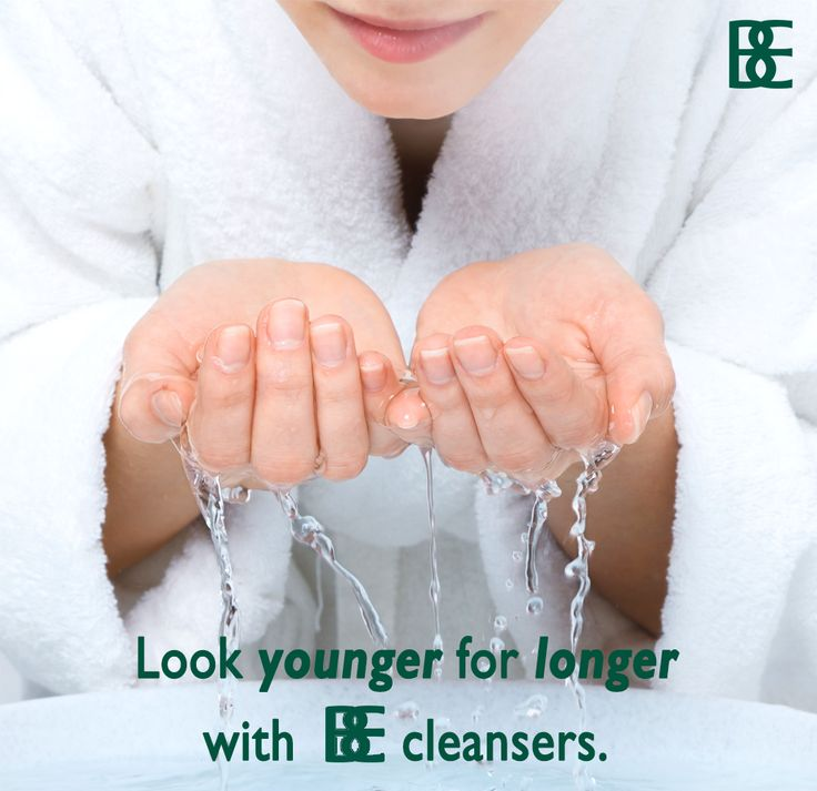 #BEHowTo: Massage a small amount of cleanser into damp skin & gently remove with tepid water. #lookyoungerforlongerwithBE
